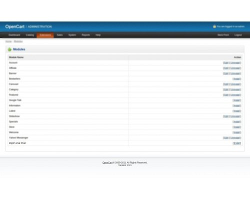 تحميل اضافة Zopim Live Chat 2.0.0.0 أوبن كارت [نسخة لايت]