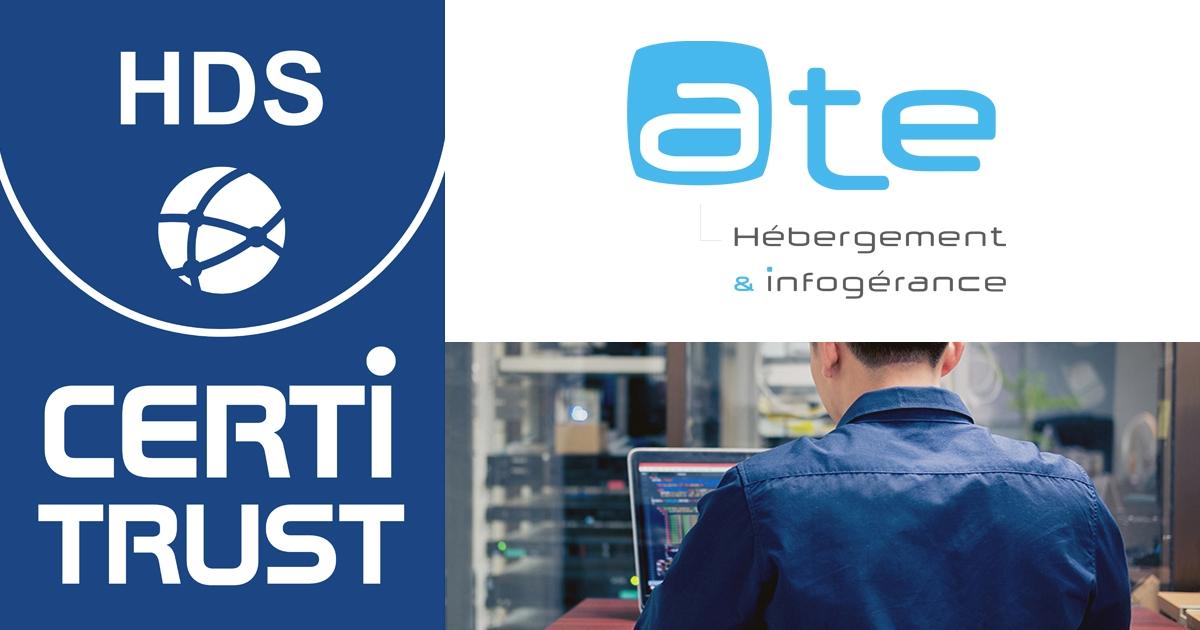 ATE obtient la certification HDS