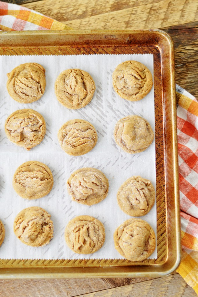 Soft Gingersnaps by  A Teaspoon of Home