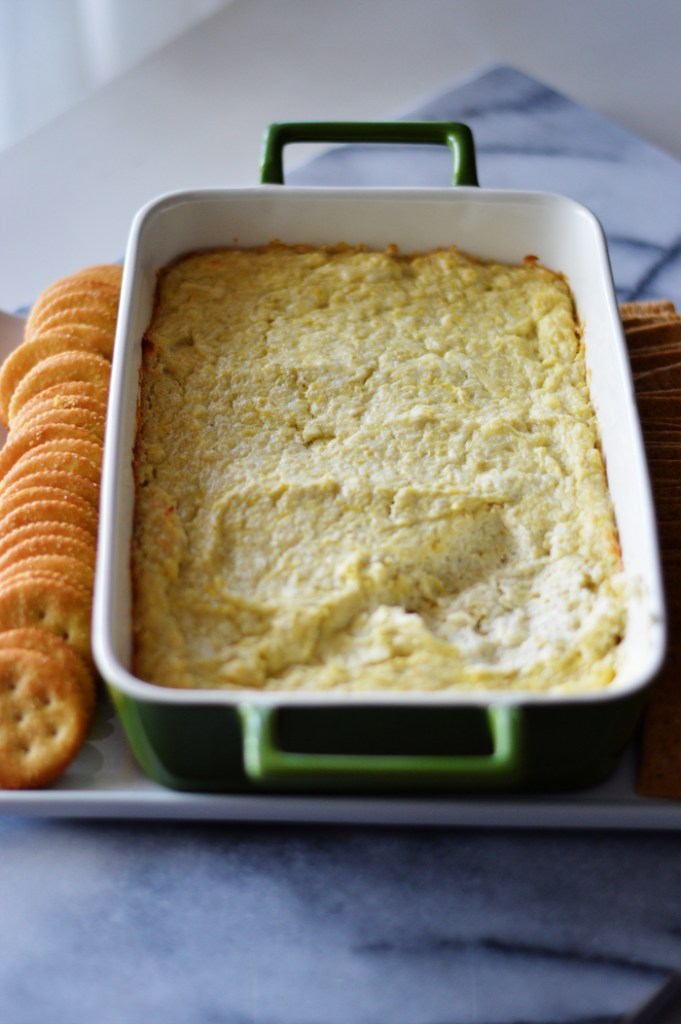 Creamy Artichoke Dip by A Teaspoon of Home