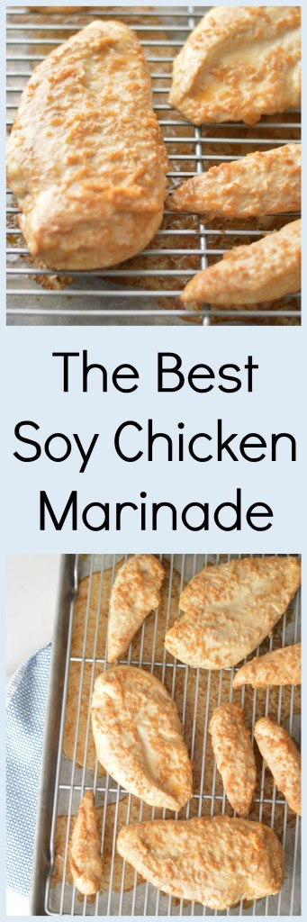 The Best Soy Chicken Marinade by A Teaspoon of Home