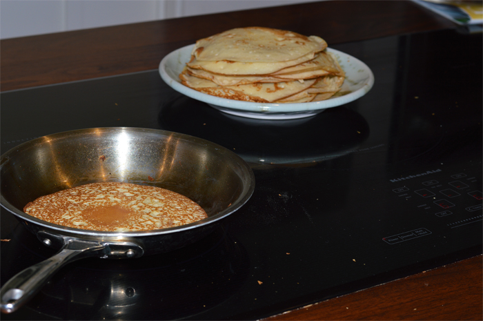 Saturday Morning Breakfast Crepes by A Teaspoon of Home