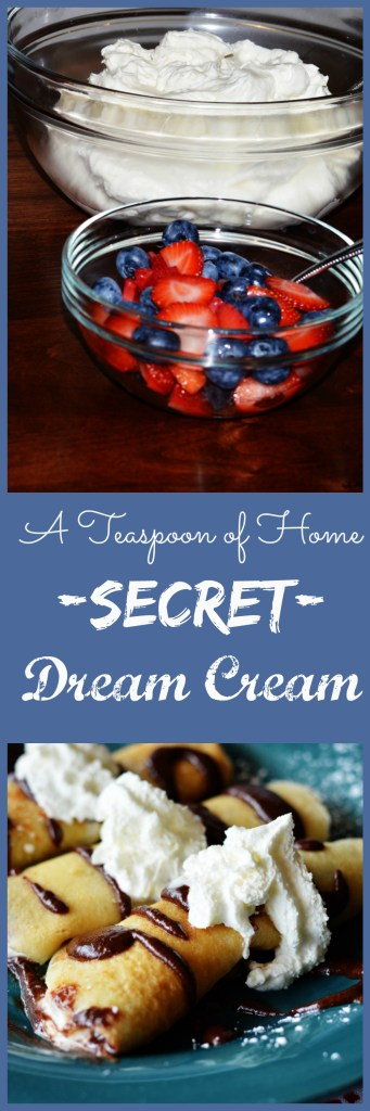 Secret Dream Cream by A Teaspoon of Home