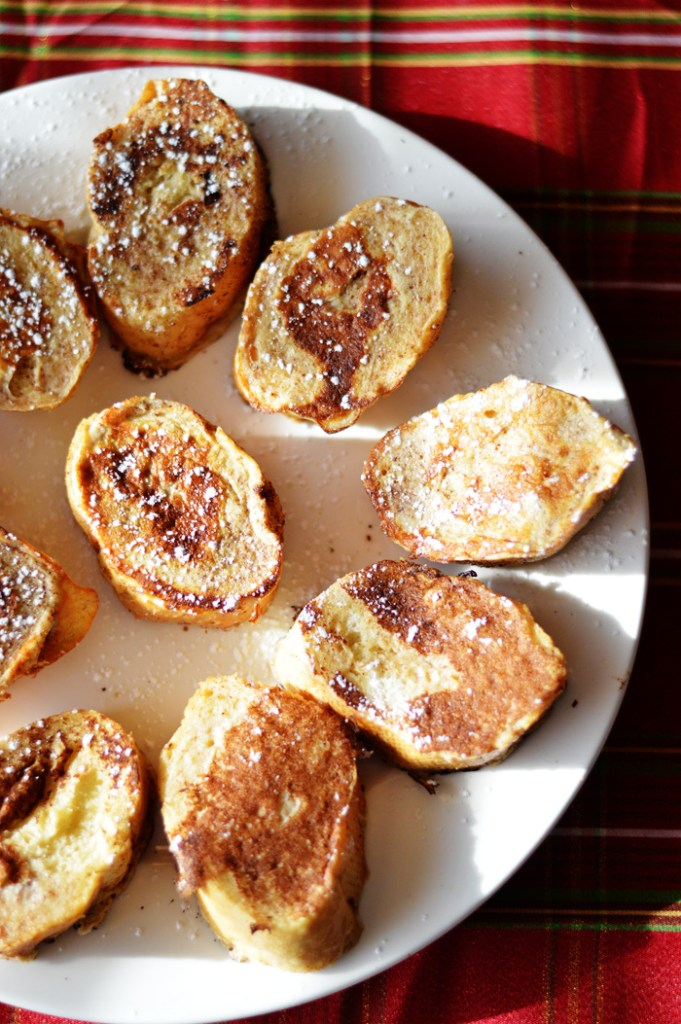 Gingerbread French Toast by A Teaspoon of Home