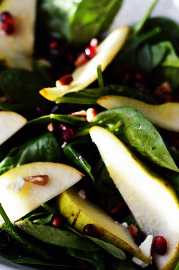 The Perfect Winter Salad by A Teaspoon of Home
