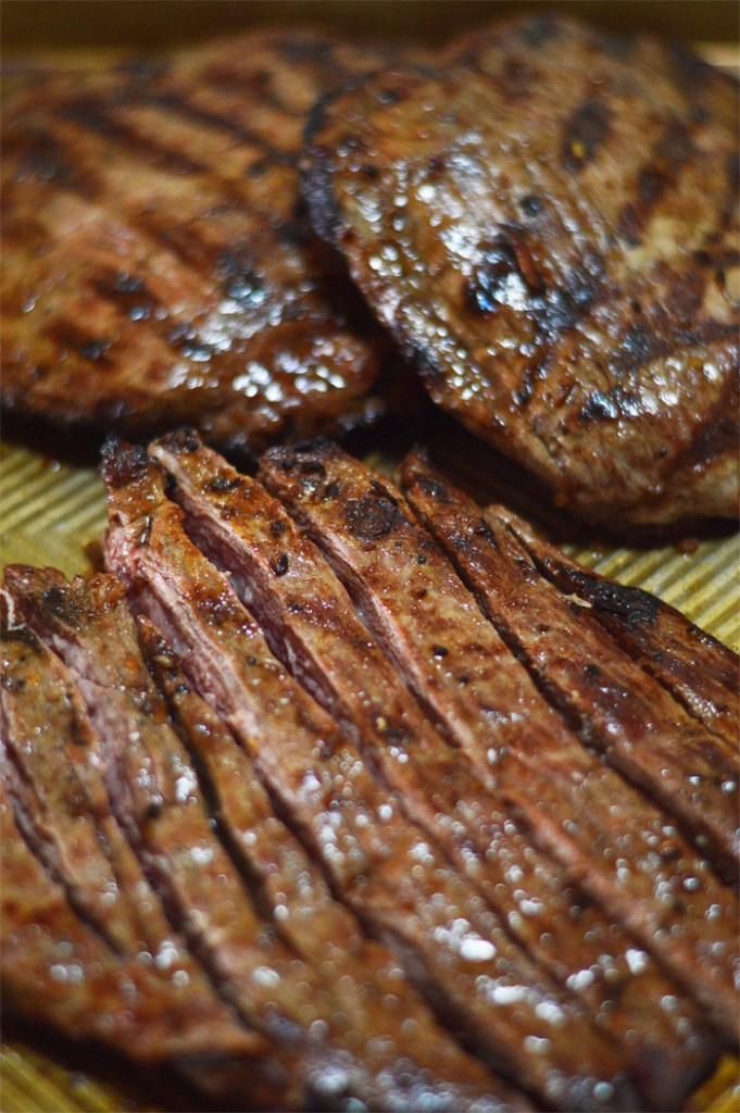 Flavor Filled Flank Steak by A Teaspoon of Home