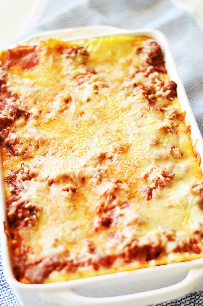 Simply Classic Lasagna by A Teaspoon of Home