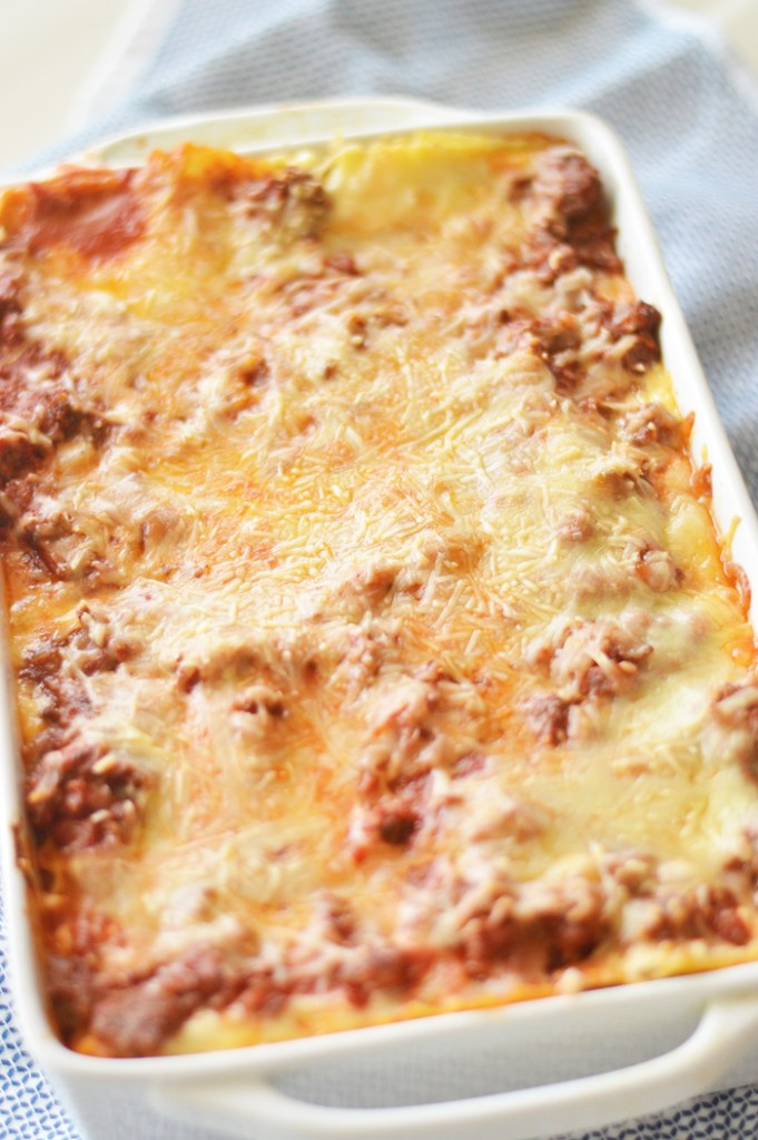 The Classic Lasagna Dish by A Teaspoon of Home