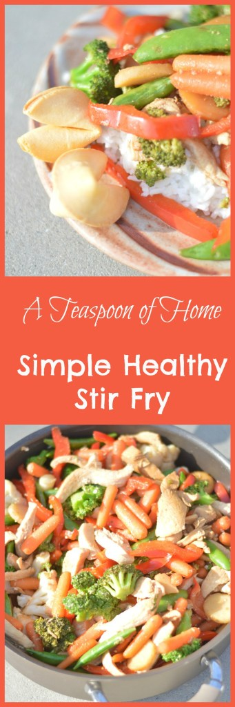 Simple Healthy Stir Fry by A Teaspoon of Home
