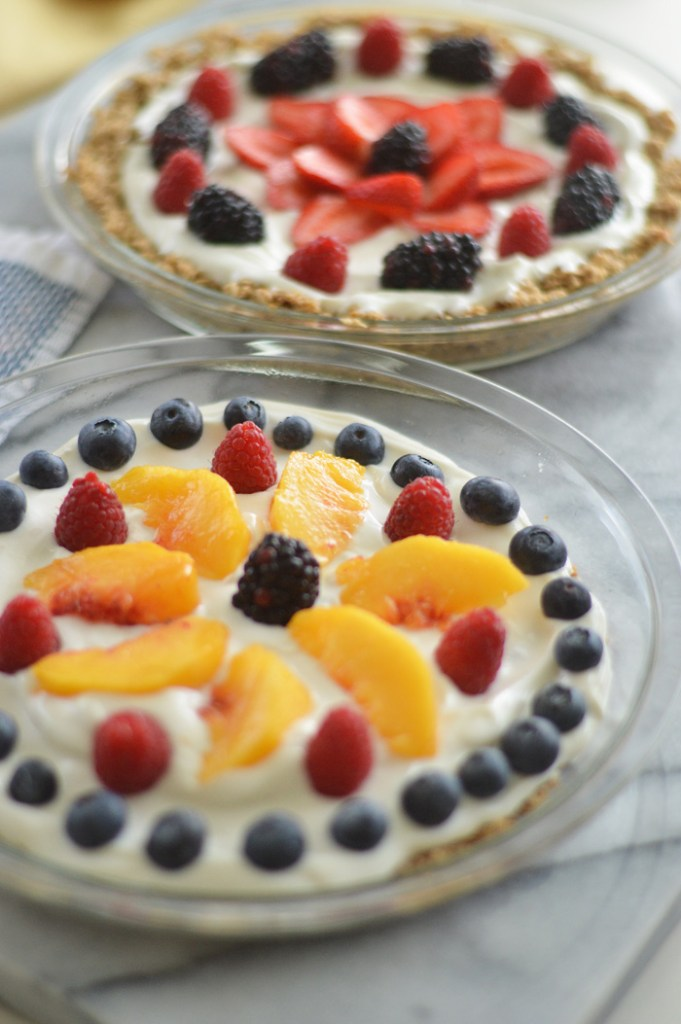 Fruit Parfait Pie by A Teaspoon of Home