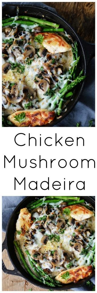 Chicken Mushroom Madeira by A Teaspoon of Home