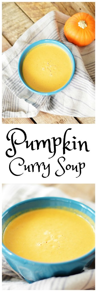 Pumpkin Curry Soup by A Teaspoon of Home