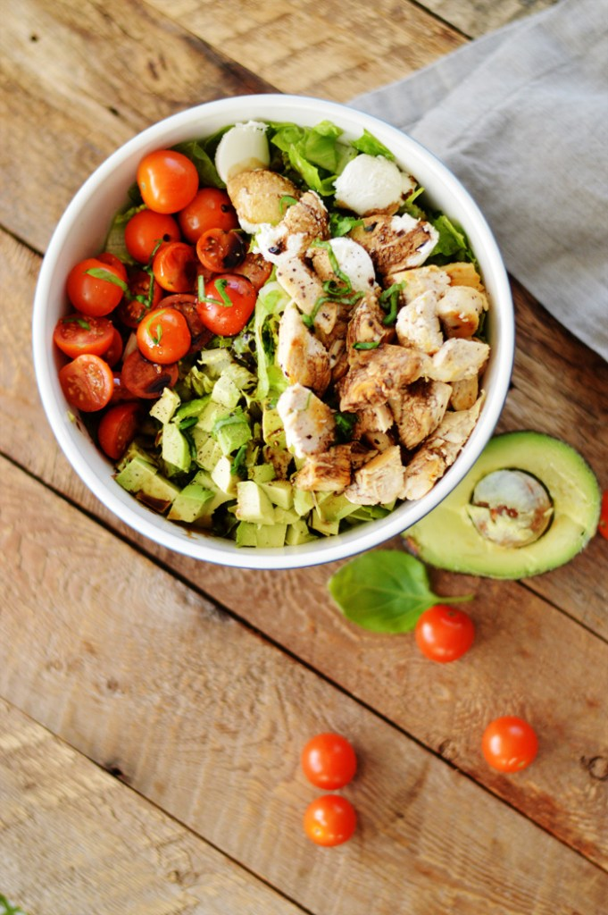Chicken Caprese Salad by A Teaspoon of Home