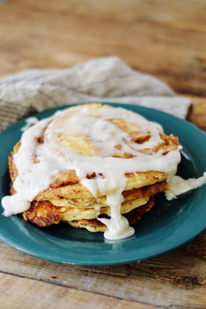 Cinnamon Swirl Pancakes by A Teaspoon of Home