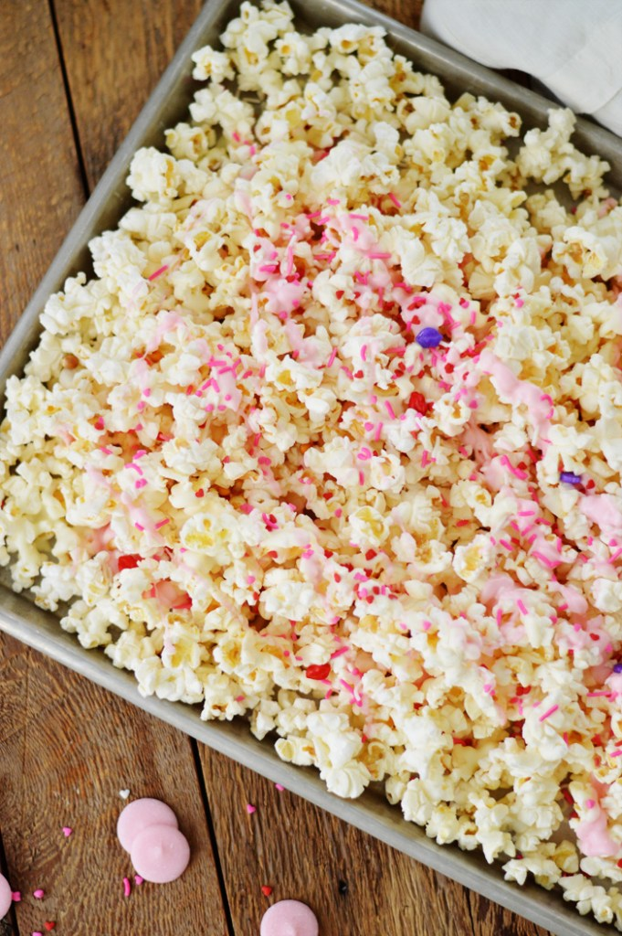 Valentine's Party Popcorn by A Teaspoon of Home
