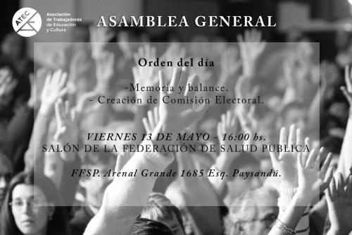 Afiche Asamblea General