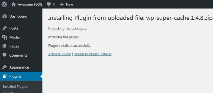 wordpress-plugin-install-activate