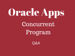 concurrent program questions answers