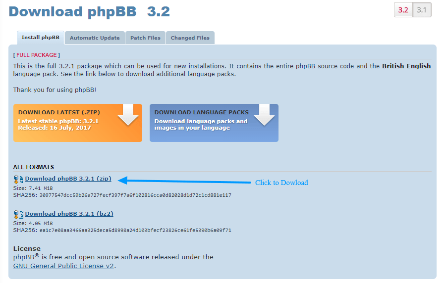 download phpbb forum software