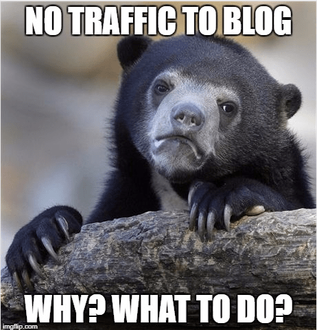 Why Blog not getting traffic? Mistakes I did, you should not
