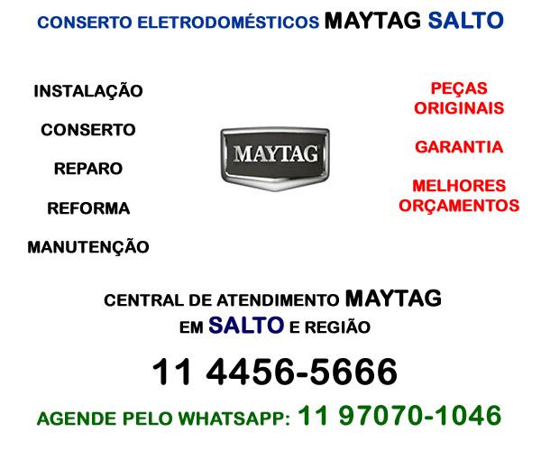 Conserto eletrodomésticos Maytg Salto
