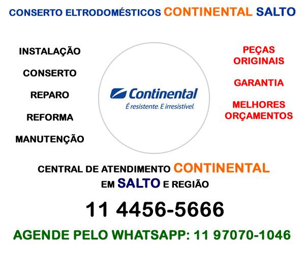 Conserto eletrodomésticos Continental Salto