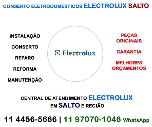 Conserto eletrodomésticos Electrolux Salto