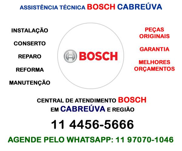 Assistência técnica Bosch Cabreúva