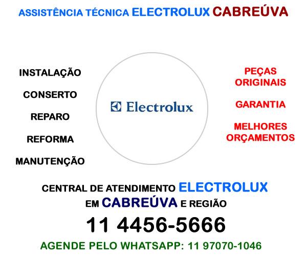 Assistência técnica Electrolux Cabreúva