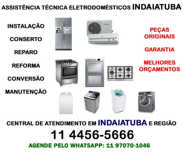 Assistência técnica eletrodomésticos Indaiatuba