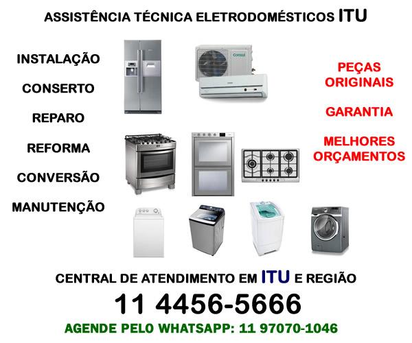 Assistência técnica eletrodomésticos Itu