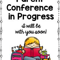 Parent Conferences - Freebie