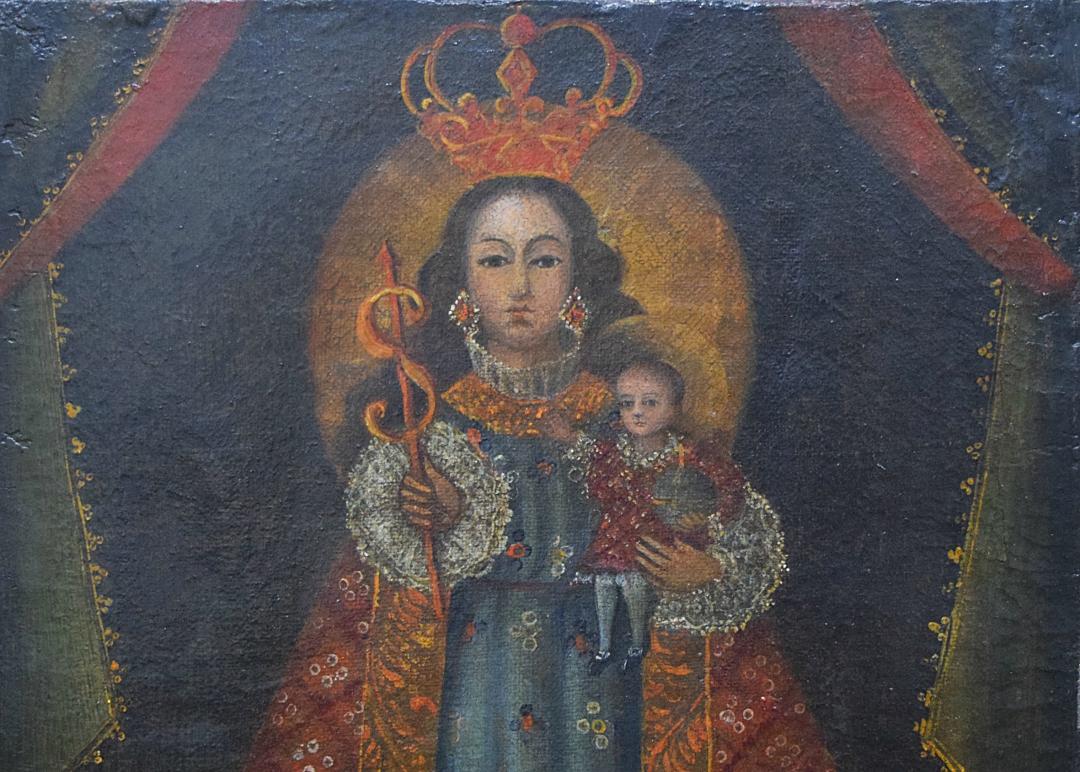 "Cusquenho: ""Virgen de la Salud"""