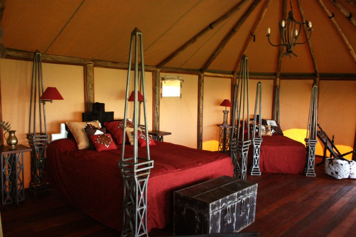Kilima Camp Luxury Tent