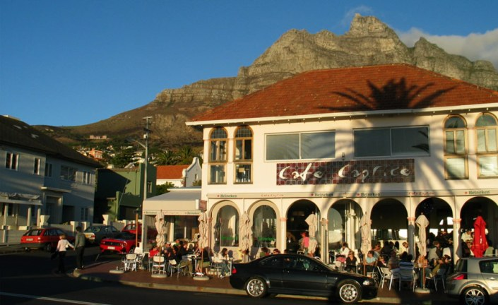 Cape Town - Camps Bay - Cafe Caprice