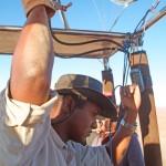 John, Ballooning Pilot Namibia