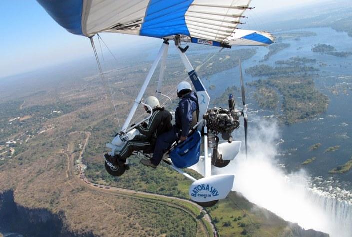 Zamibia Luxury Safari - Micro Flight