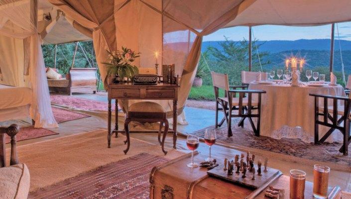 Cottars Camp - Kenya - Safari Tents