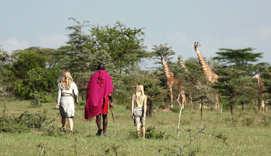 Cottars Camp - Kenya - Maasai Walk