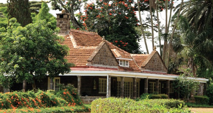 Karen Blixen House in Nairobi at only a few minutes from Ngong House