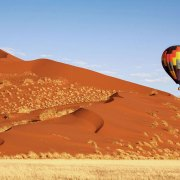 Namibia Ballooning over the Namib Desert
