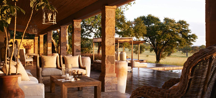 Details of the Private House in the Serengeti