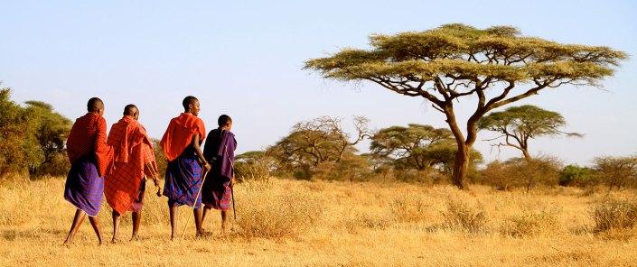 Walking with the Maasai