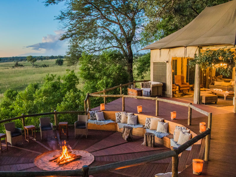 Nambwa Tented Lodge - Luxury Namibia tented Camp