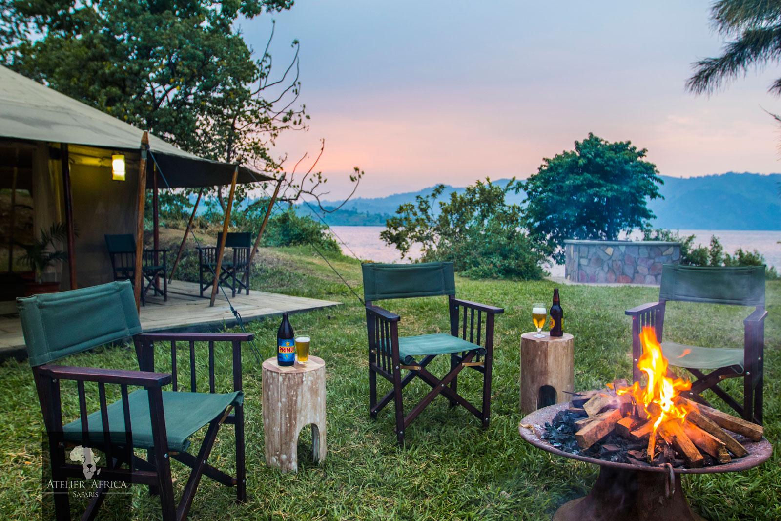 Tchegera Island Camp - Congo Safari