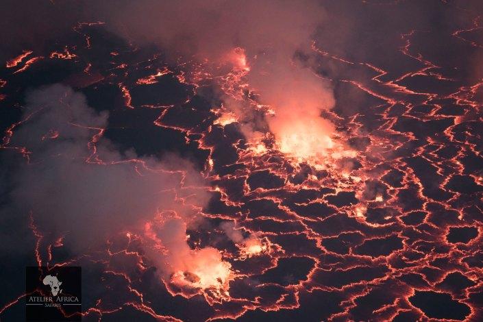 Nyiragongo - Congo Safari - Lava Lake