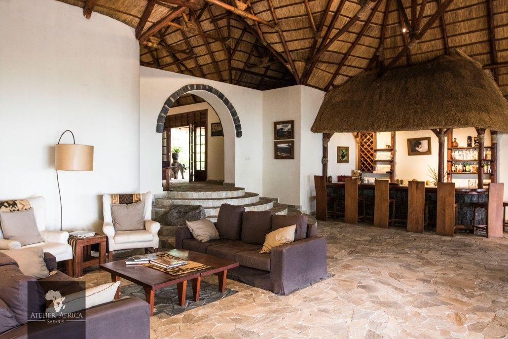 Mikeno Lodge - Congo Safari - Reception