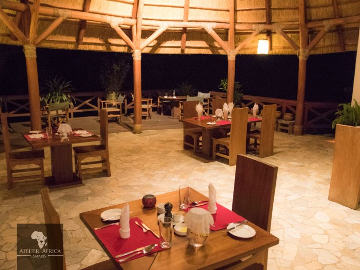 Mikeno Lodge - Congo Safari - Restaurant