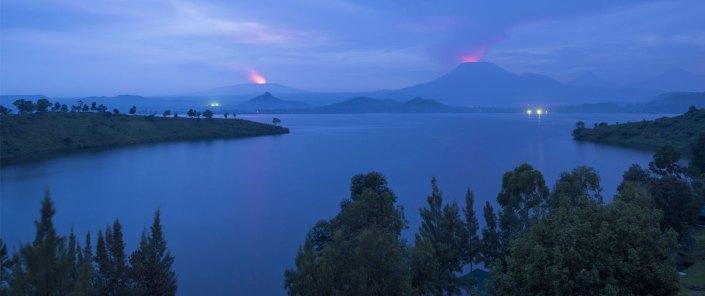 Lake Kivu - Island - Virunga Park - Tchegera Island - Congo Safari