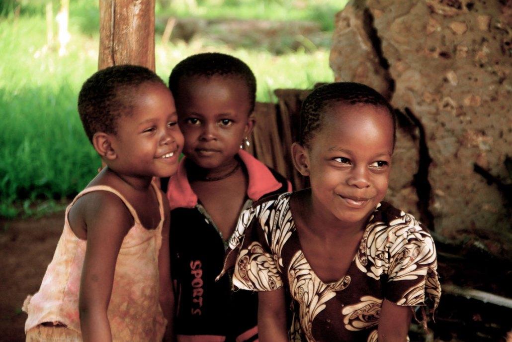 Msambweni Village Kenya - Smiles - Kids